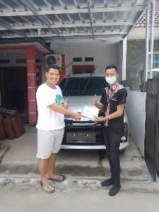 Serah Terima Unit an Deni Kredit Toyota Bekasi