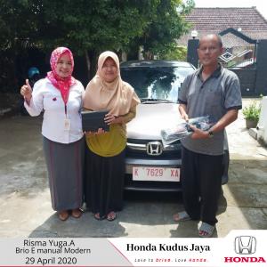 Testimoni Serah Terima Unit  Honda Jepara