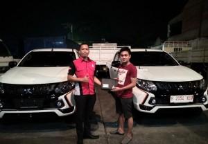 Delivery Mitsubishi Triton  Mitsubishi Jakarta selatan