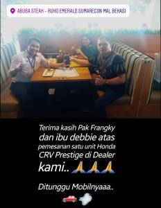 Pemesanan Unit   Honda Bekasi