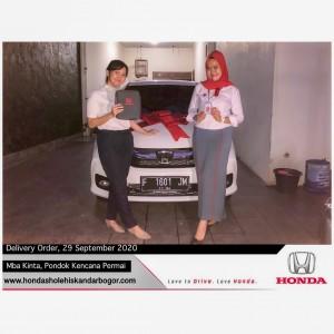 delivery order customers  Honda Bogor