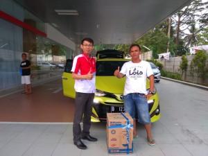Terima Kasih Mas Aji Sales Toyota Pandeglang