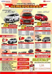 Promo Daihatsu Semarang Spesial Kemerdekaan Sales Daihatsu Semarang