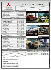 Price List Harga Mitsubishi Mojokerto Sales Mitsubishi Mojokerto