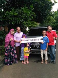 Terimakasih pa dani untuk pembelian xpander nya  Mitsubishi Bekasi