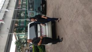 Penyerahan mobil karimun wagon R Sales Suzuki Palembang