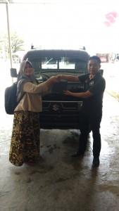 Delivery Order Unit Carry PUFD   Suzuki Pekanbaru