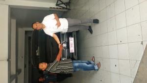 Penyerahan unit pickup carry FD  Sales Suzuki Palembang