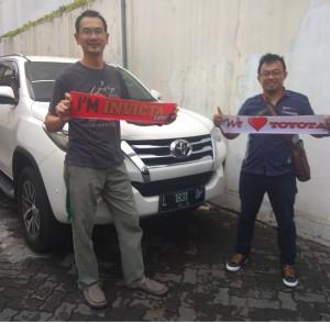 Pengadaan unit PT Kompindo gresik   Toyota Tuban