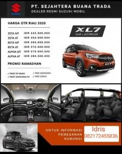 Suzuki SUV XL7 Sales Suzuki Riau
