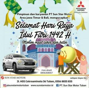 Happy eid mubarak juragan mitsubishi  Mitsubishi Rembang