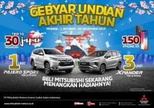Gebyar Undian Akhir Tahun Mitsubishi Jawa Timur