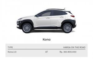 Hyundai Kona  Hyundai Brebes