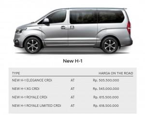 Hyundai New H-1 Kredit Hyundai Bontang