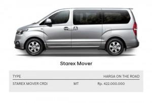 Hyundai Starex Mover  Hyundai Brebes