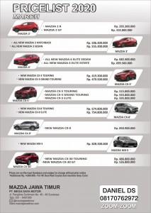 HARGA PROMO MAZDA SURABAYA 2020 Sales Mazda Surabaya