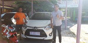 Serah Terima Mobil  Toyota Mataram