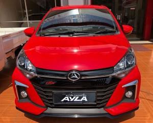 NEW AYLA FACELIFT SOLID RED 2020 Sales Daihatsu Jepara