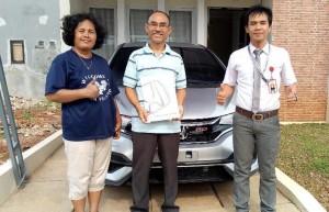 Cust.Kel.Bpk.Bambang Suherman-New Honda Jazz facelift