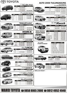 Harga Terbaru Toyota Trenggalek 2019 Sales Toyota Trenggalek